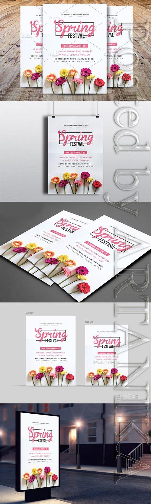 CM - Spring Festival Flyer 2424509