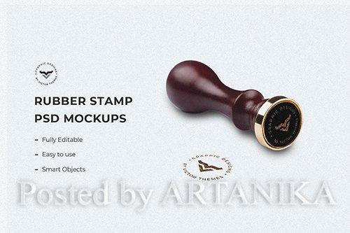 Stamp Mockup Template