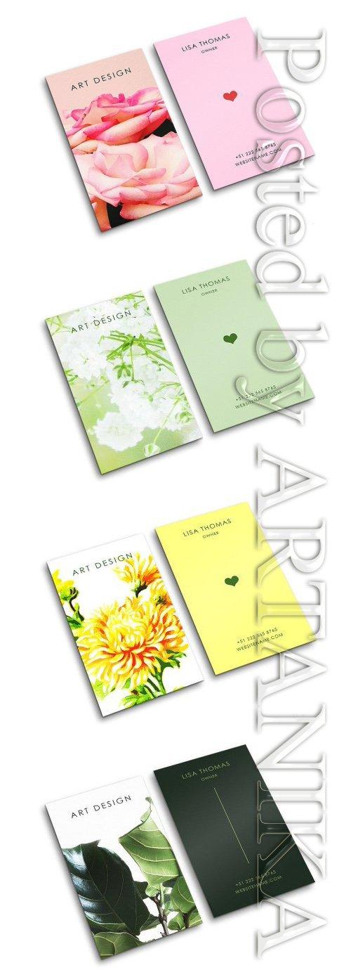CM - Beautiful Creative Art Business Card Set