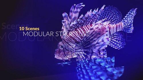 MotionArray - Elegant Glass Slides 215906
