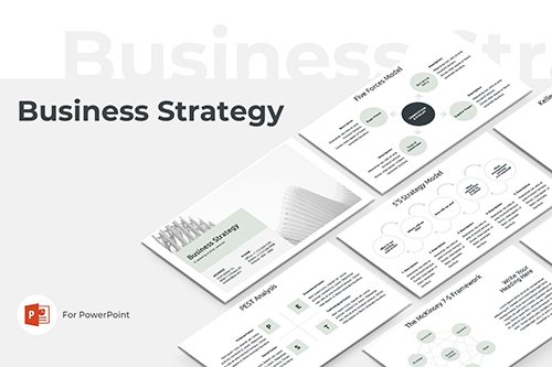 Business Strategy PowerPoint and Keynote Template