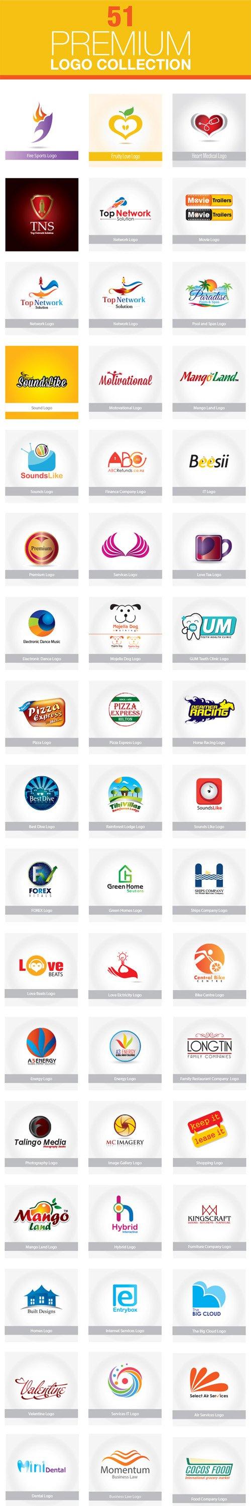 51 Premium Logo Vector Collection