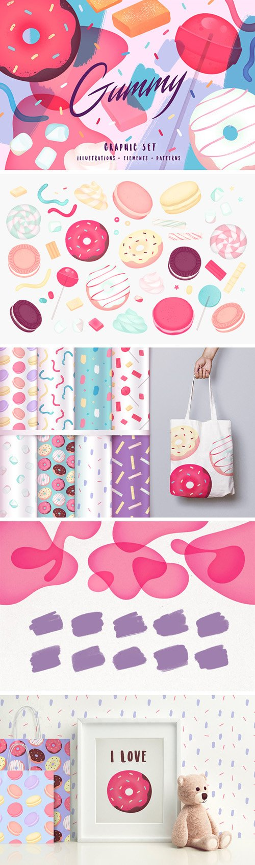 Gummy Graphic Sets