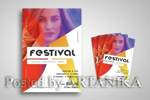 Music Festival Promo Flyer