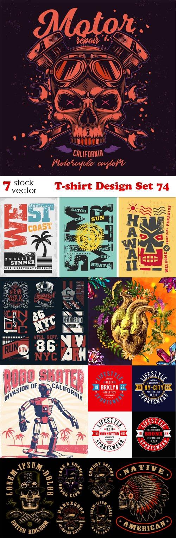 Vectors - T-shirt Design Set 74