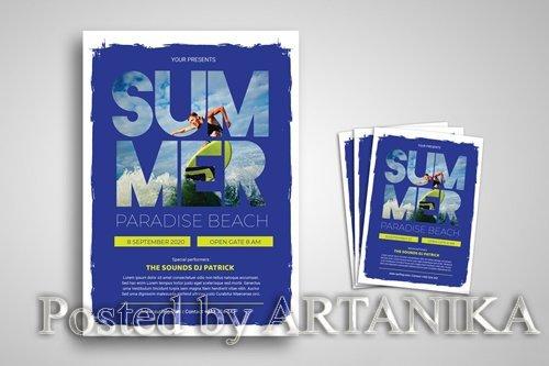 Summer Festival Promo Flyer