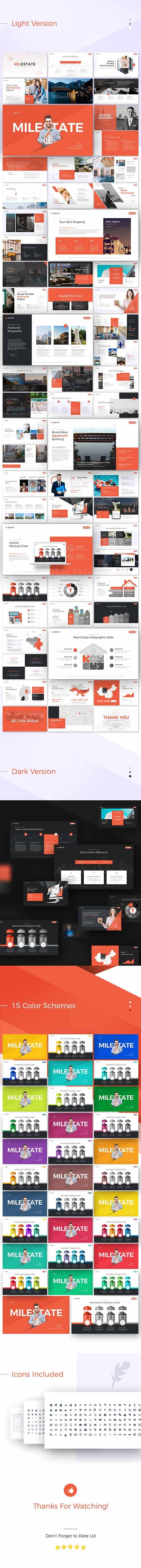 GraphicRiver - Milestate Real Estate PowerPoint Presentation Template 22401888