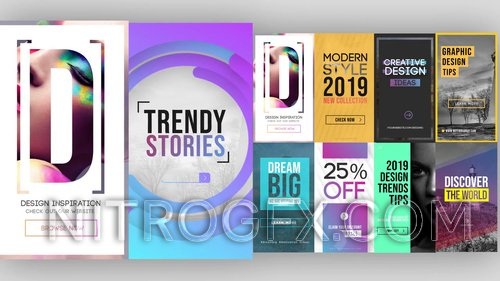 MA - Trendy Instagram Stories Pack 214739
