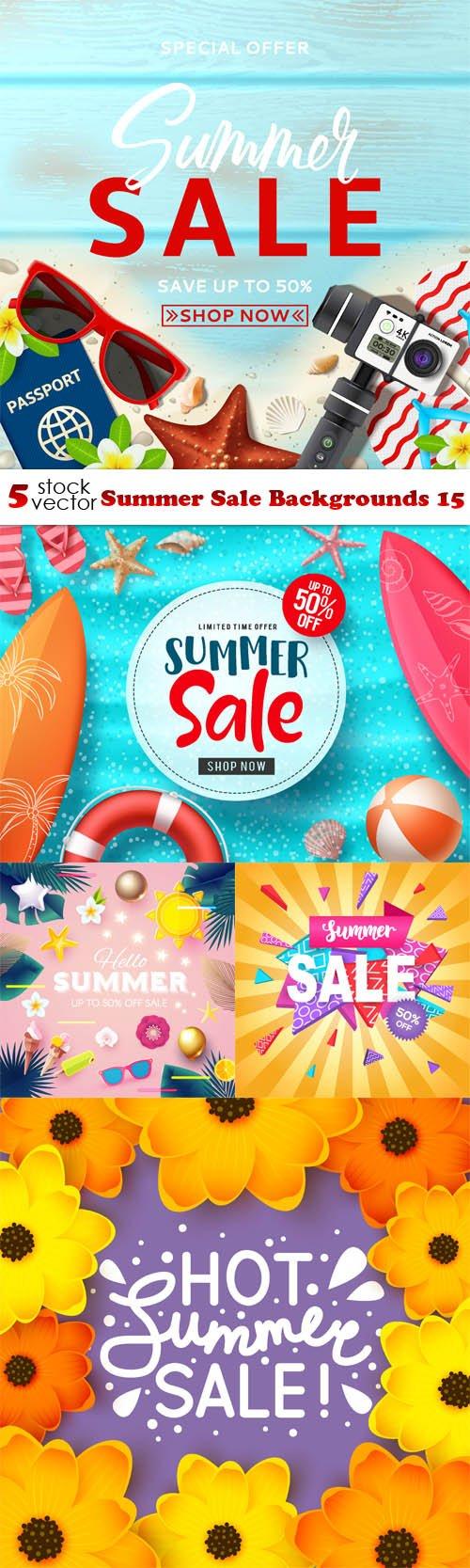 Vectors - Summer Sale Backgrounds 15