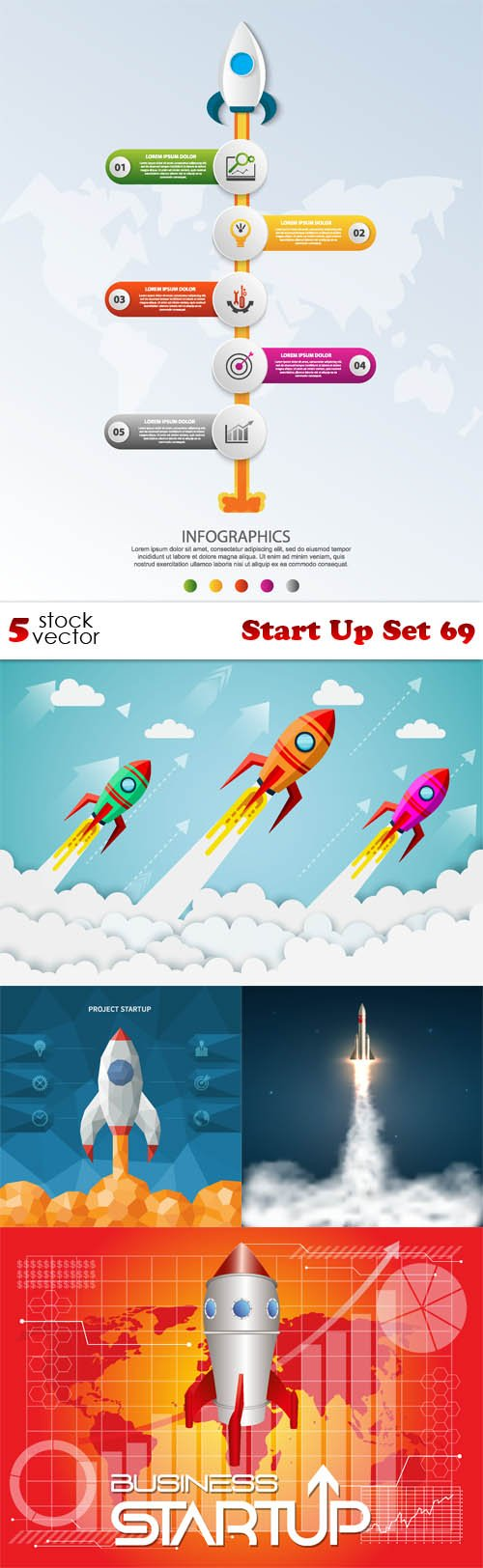 Vectors - Start Up Set 69