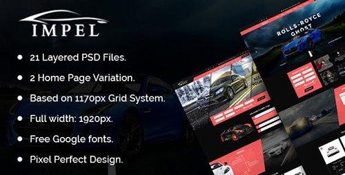 IMPEL Car Dealer PSD Template 20908739