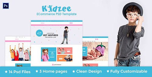 KIDZEE - eCommerce PSD Template 14158306