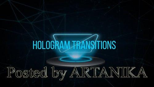 Hologram Text Transition Premiere Pro Presets 230493