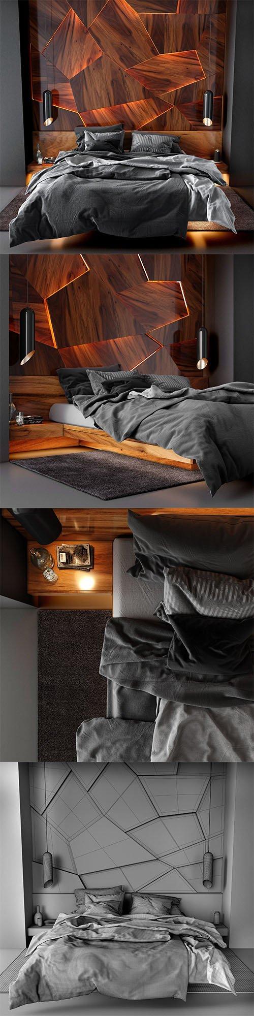 Bedroom set 3 3D