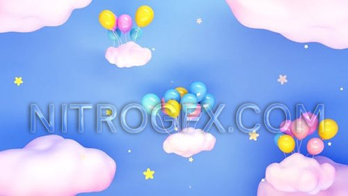 Balloons And Stars 23769458