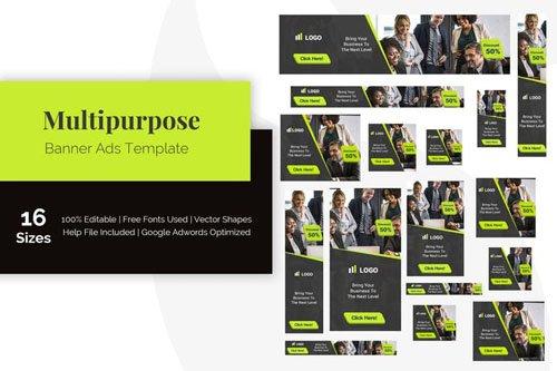 Multipurpose Banner Ads Template - 5ZXVDQ9