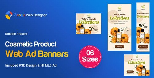 CodeCanyon - C18 - Cosmetic Banners HTML5 - GWD & PSD - 23789608