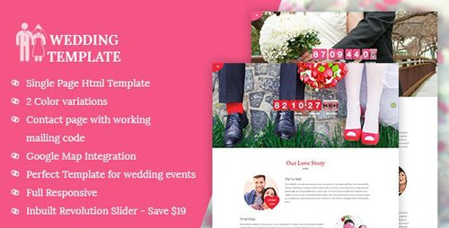 ThemeForest - My Wedding - Wedding Invitation Template (Update: 9 June 16) - 4146052