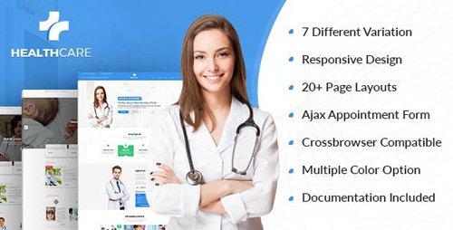 ThemeForest - Health Care v1.0 - Doctor Hospital Clinic Medical Responsive Website Template - 7771238