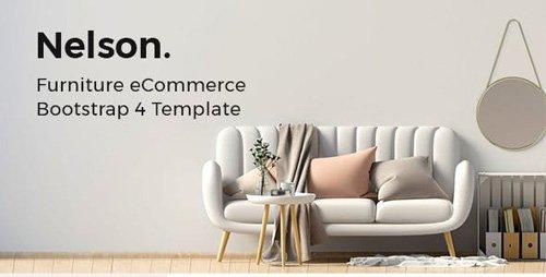 ThemeForest - Nelson v1.0 - Furniture eCommerce Bootstrap 4 Template - 23775508