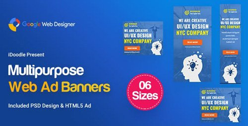 CodeCanyon - C09 - Multipurpose, Business Banners GWD & PSD - 19432658