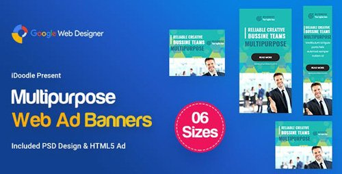CodeCanyon - C08 - Multipurpose, Business Banners GWD & PSD - 23750255