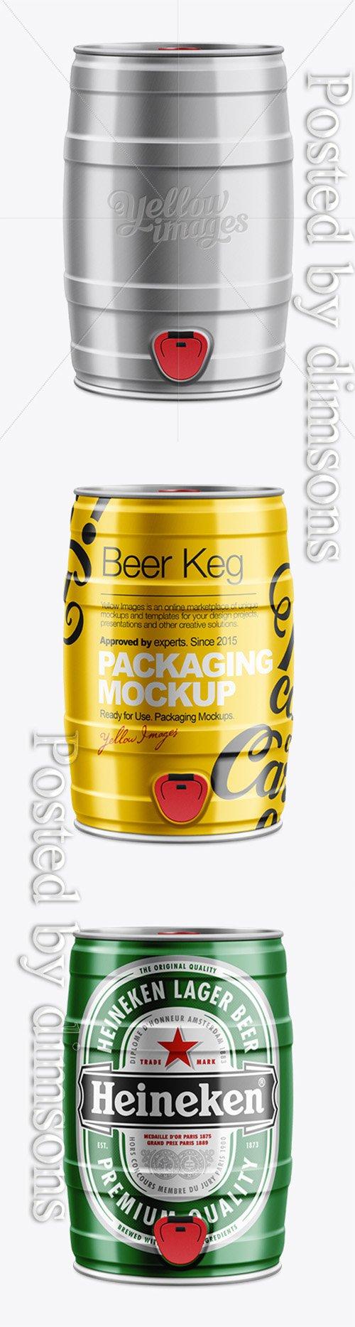 5L Draft Beer Keg Mockup 10711 TIF