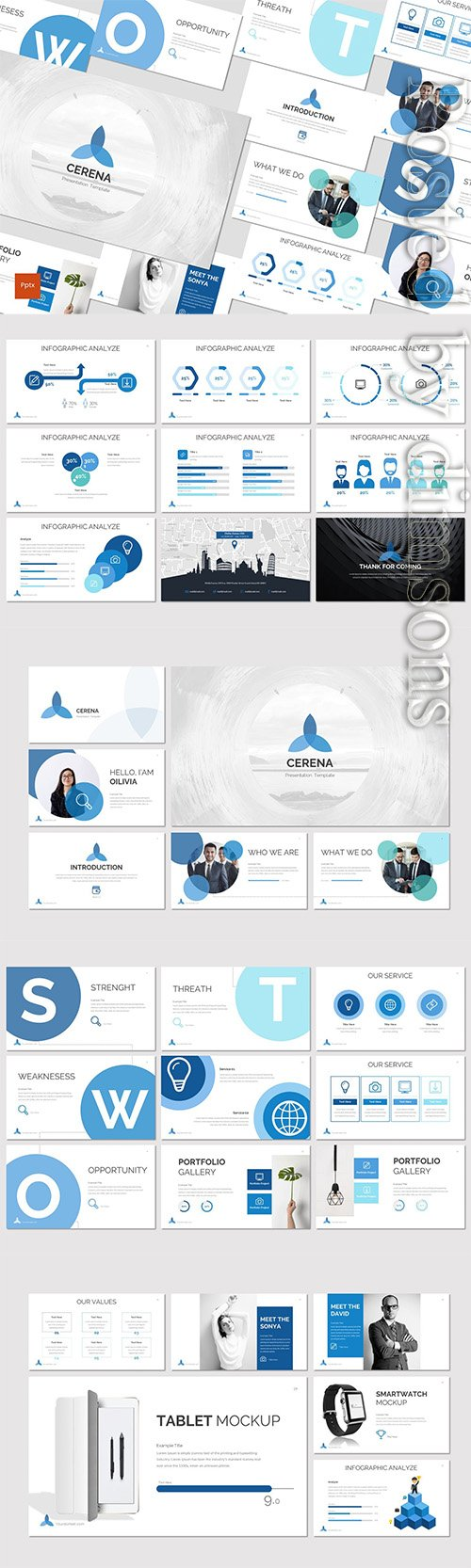 Cerena - Powerpoint, Keynote and Google Slides Templates