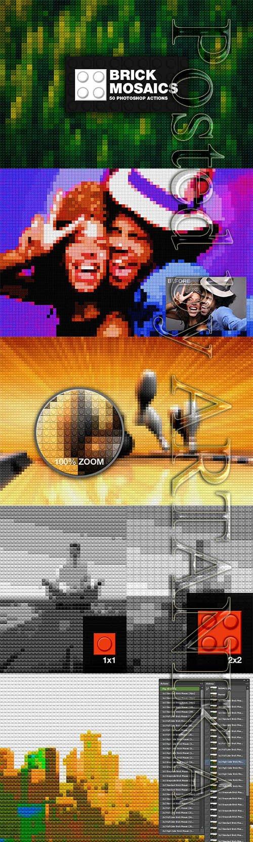 Brick Mosaics 7404867