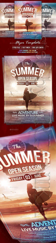 The Summer Flyer Template 19713988