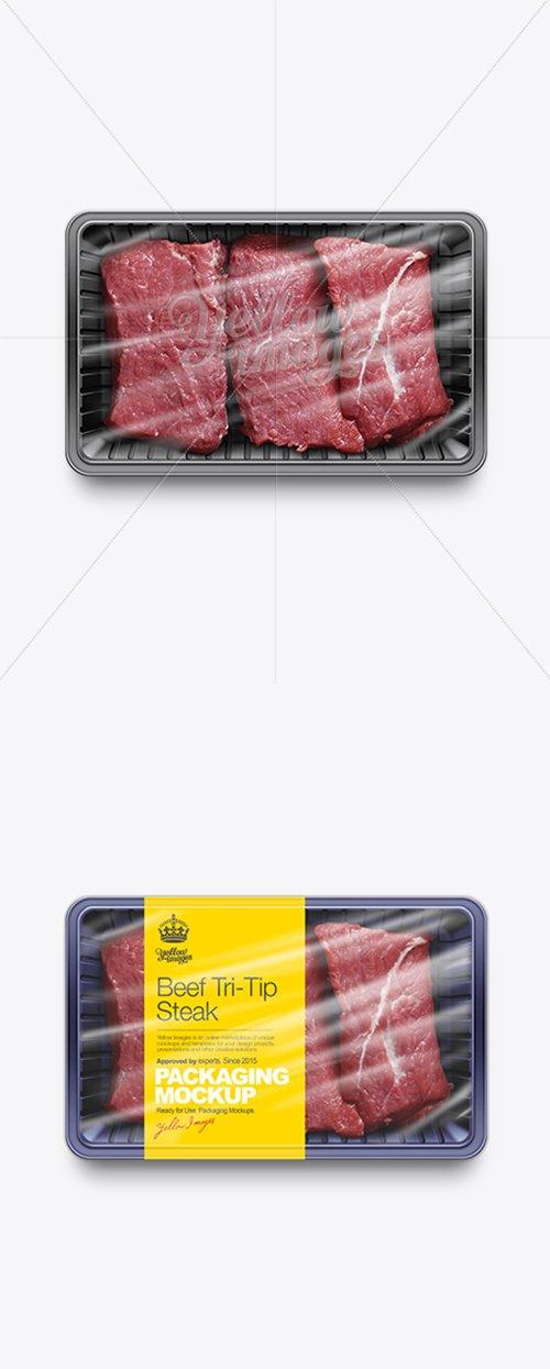 Sliced Beef Tray Mockup 10694 TIF