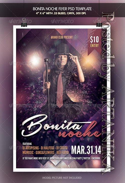 Bonita Noche | Fiesta Flyer 6556152