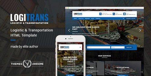 ThemeForest - LogiTrans v1.0 - Logistic and Transportation HTML Template - 14130505