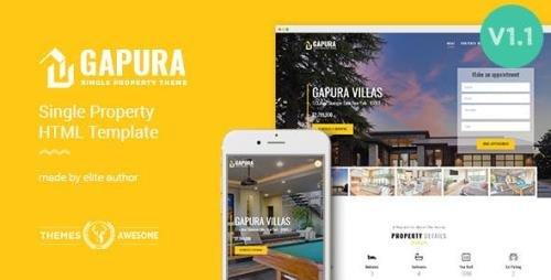 ThemeForest - Single Property HTML Template - Gapura v1.1 - 13147476
