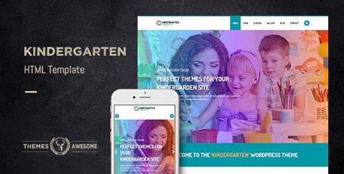 ThemeForest - Kindergarten v1.0 - HTML template - 12413643