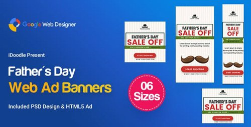 CodeCanyon - C29 - Father's Day HTML5 - GWD & PSD - 23819022