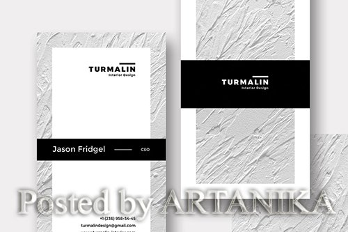 Turmalin Bussiness Card PSD