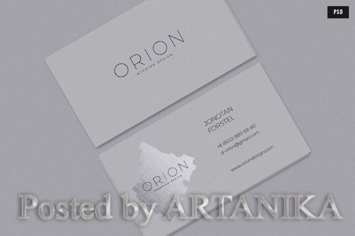 Orion Business Card PSD
