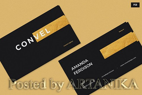 Convel Business Card PSD