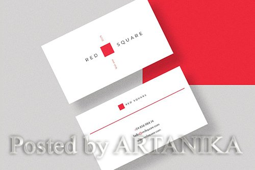 Redsquare Creative Business Card