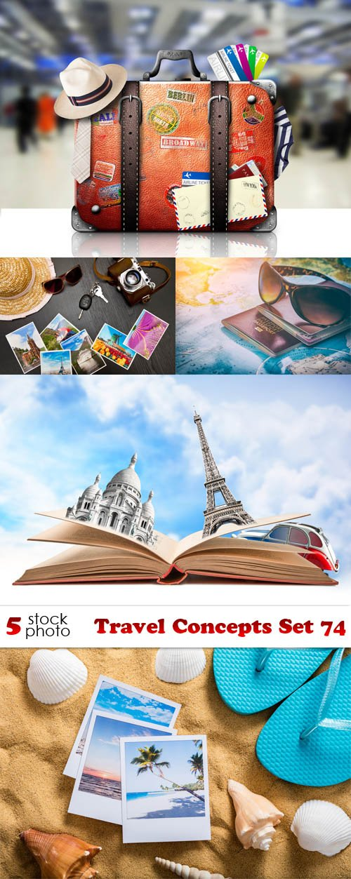 Photos - Travel Concepts Set 74