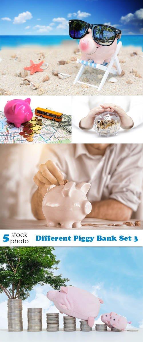 Photos - Different Piggy Bank Set 3
