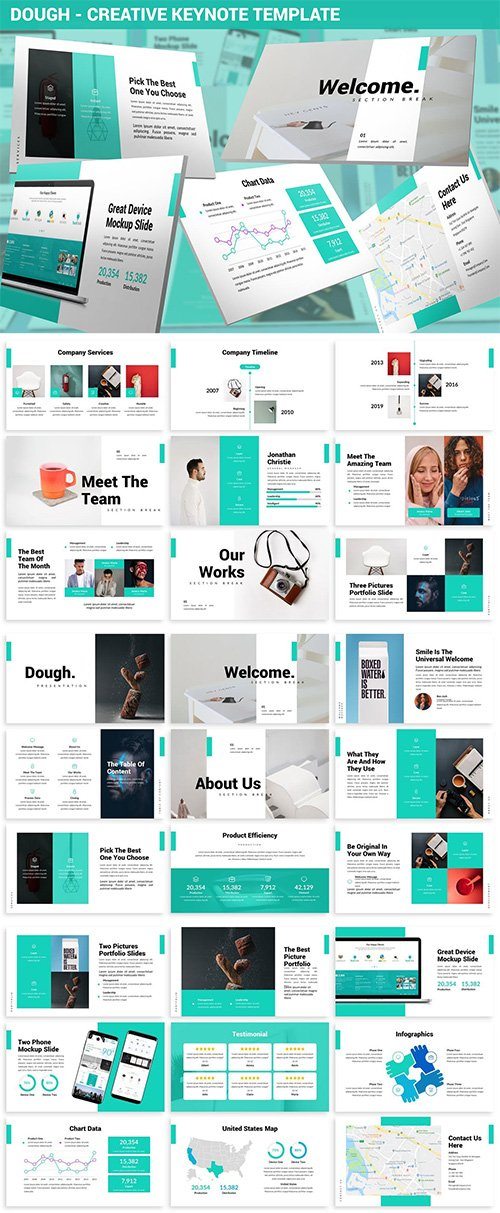 Dough - Creative Keynote Template