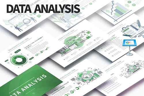 Data Analysis - Keynote Infographics Slides