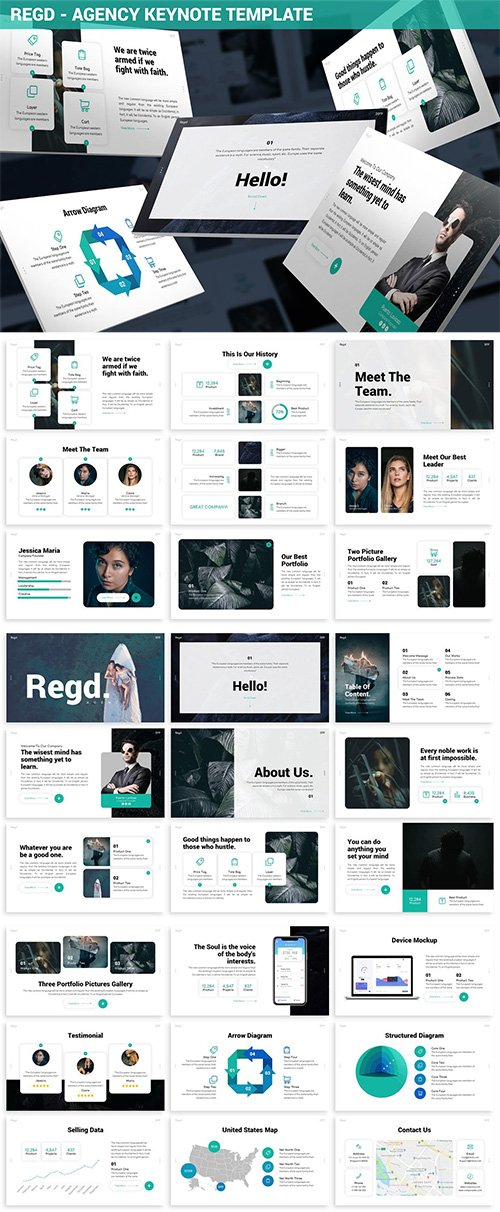 Regd - Agency Keynote Template