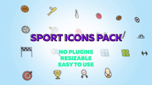 MotionArray - Sport Icons Pack 232153