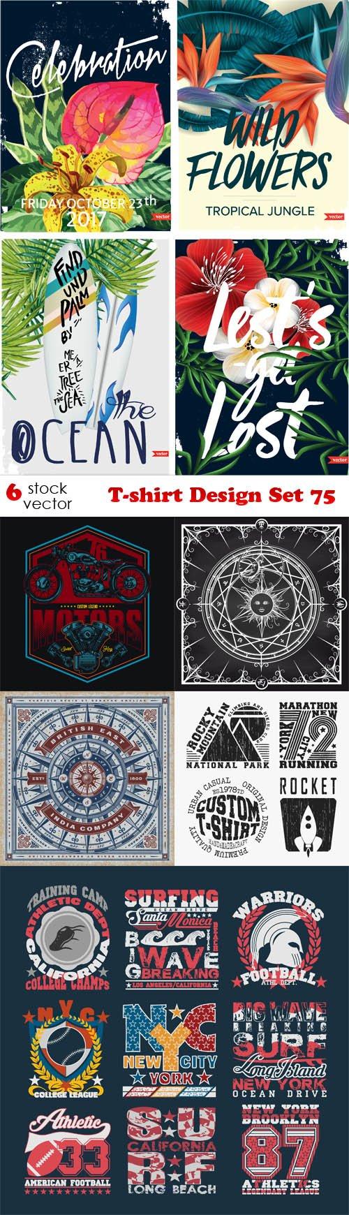 Vectors - T-shirt Design Set 75