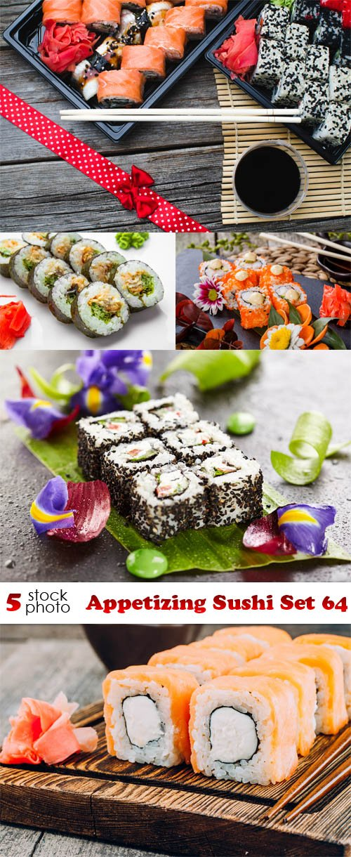 Photos - Appetizing Sushi Set 64