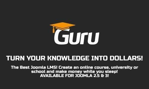 iJoomla - Guru Pro v5.1.18 - LMS Component For Joomla + Plugins & Modules