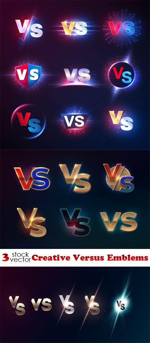 Vectors - Creative Versus Emblems